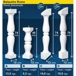 Balaustrada Roma