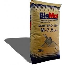 MORTERO M-7 5 (25 KG) GRIS