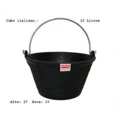 CUBO ITALIANO GOMA NATURAL 10L
